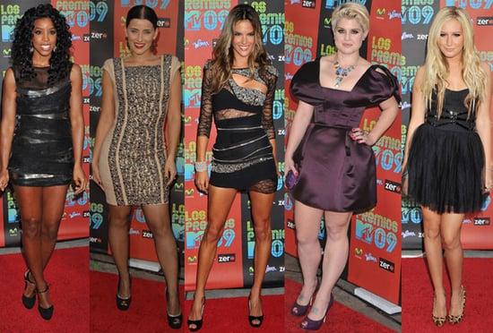Best Dressed at 2009 Los Premios MTV Awards