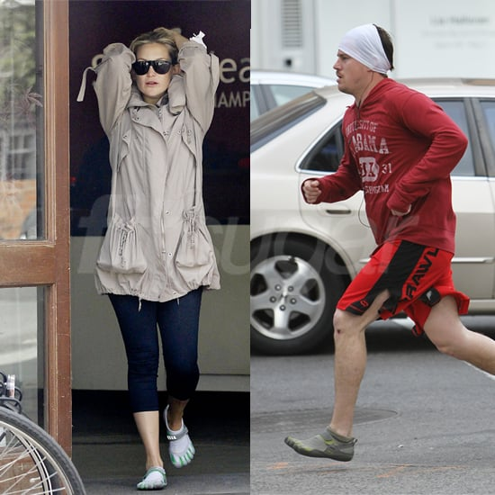 Celebrities Who Wear Vibram FiveFingers Shoes