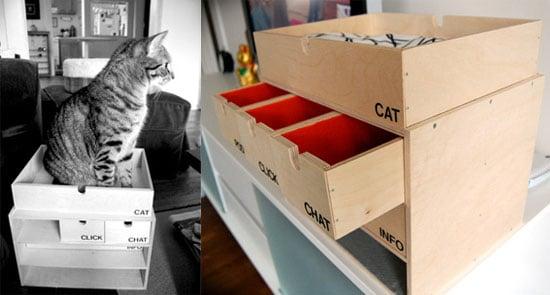 DIY Cat Bed/Charging Station