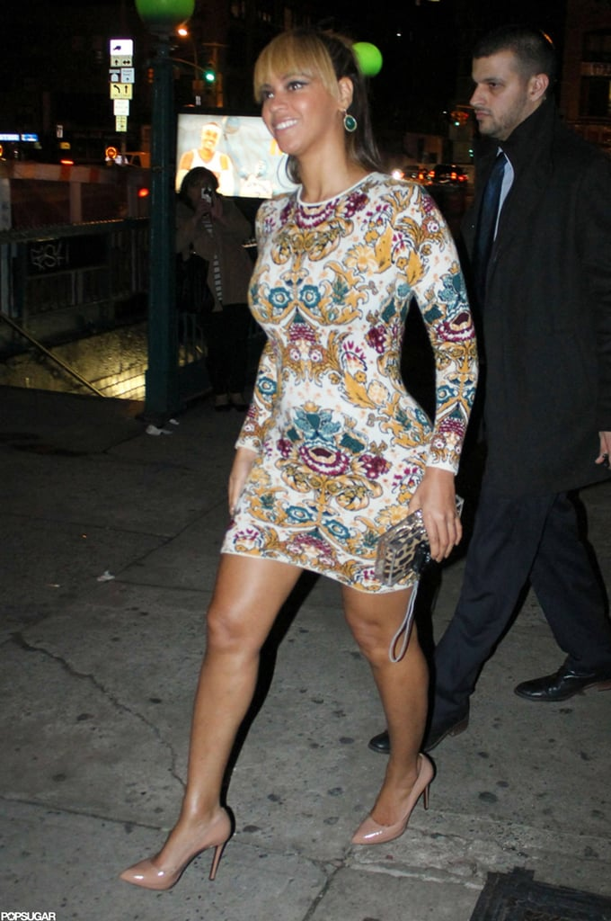 Beyoncé Knowles supported her sister Solange Knowles for her NYC show.