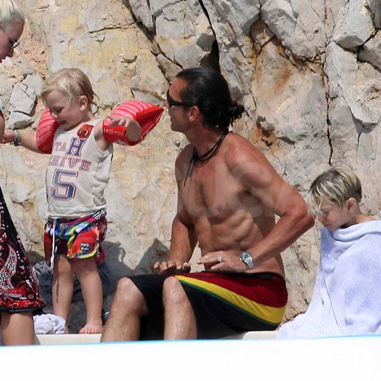Gavin Rossdale Goes Shirtless in Cannes, France