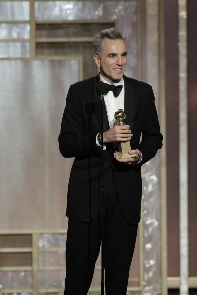 Daniel Day-Lewis picked up a Golden Globe when he won best actor in a motion picture, drama.