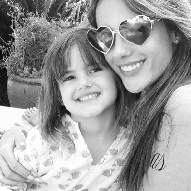 Alessandra Ambrosio posted this adorable photo in honor of her daughter Anja Mazur's birthday. Source: Instagram user alessandraambrosio