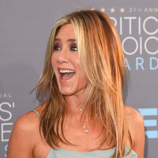 Jennifer Aniston's Hair at the 2016 Critics' Choice Awards