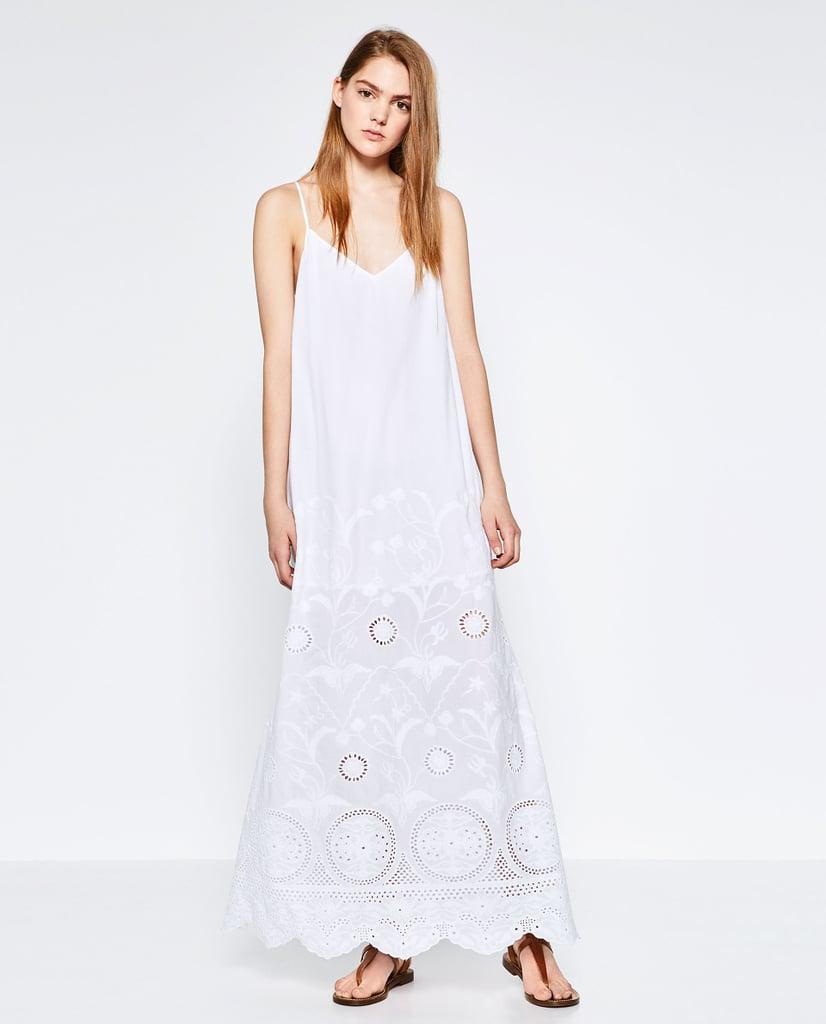 Zara Embroidered Dress ($100)