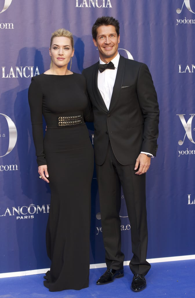 Kate Winslet posed for cameras at the Yo Dona Awards.