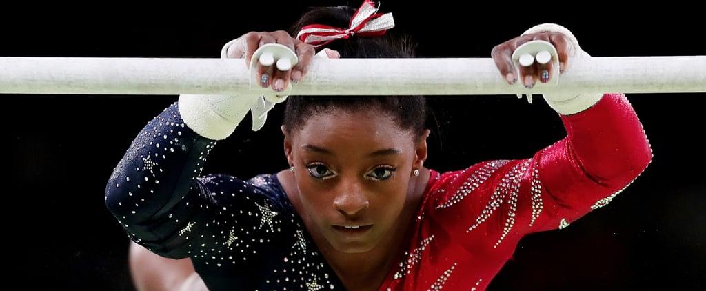 Zoom In on US Olympic Gymnast Simone Biles's Gorgeous Cat Eye