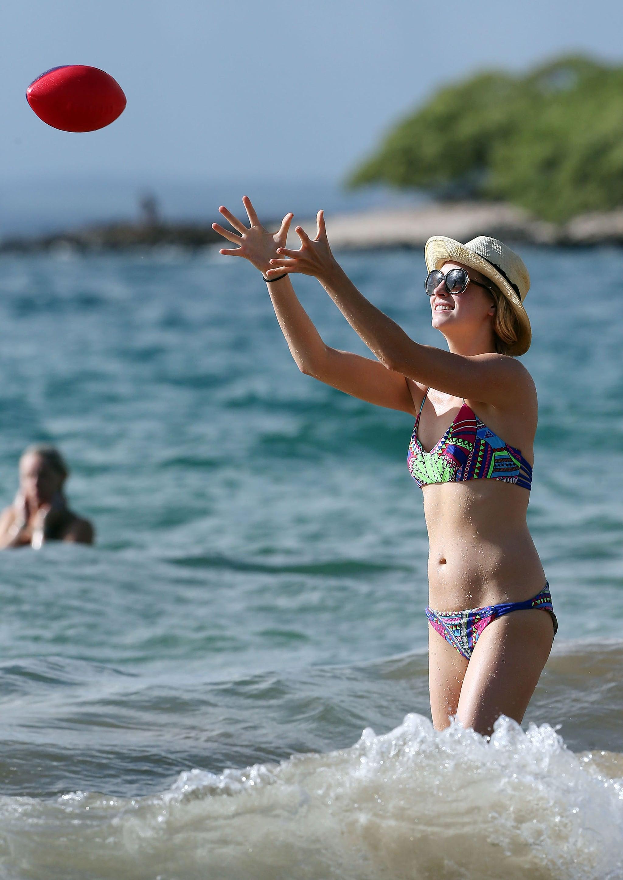 Candice Accola Keeps Up the Bikini Fun in Hawaii