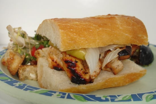 'Wich of the Week: Grilled Chicken, Onion, and Apples