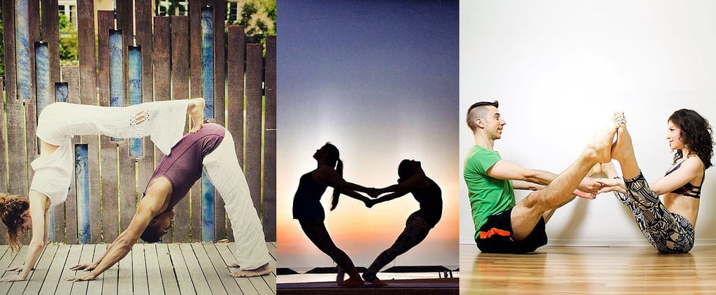 POPSUGAR Shout Out: Try Doing Partner Yoga This Valentine's Day