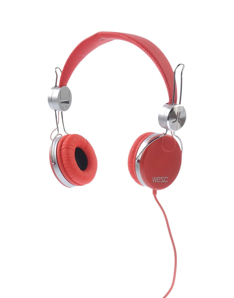 Any music-lover will dig these colorful WeSC headphones ($59), perfect for Beyoncé or Beethoven.