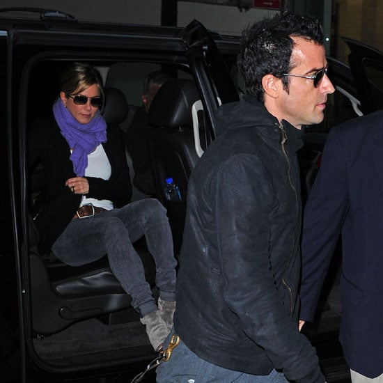 Jennifer Aniston and Justin Theroux Pictures Matching in NYC