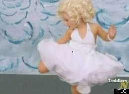 """(VIDEO) 3-Year-Old Goes on TV as a """"Sexy"""" Marilyn Monroe"""