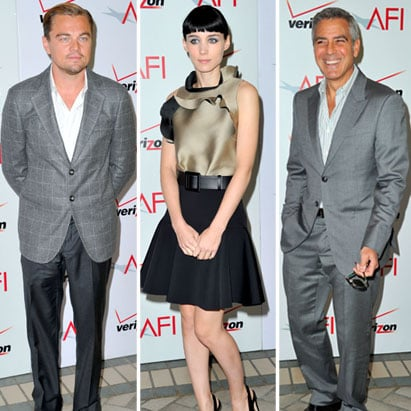 George Clooney and Claire Danes Pictures at AFI Awards