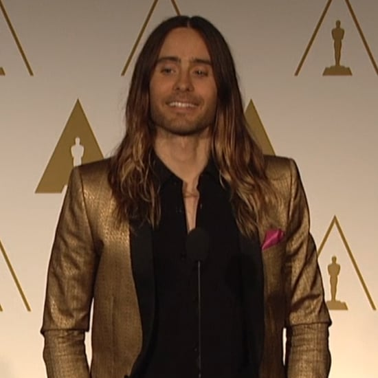Jared Leto Interview at 2014 Oscars Lunch (video)