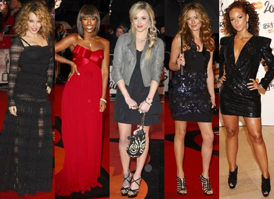 Best Dressed on the Red Carpet at the 2010 Brit Awards