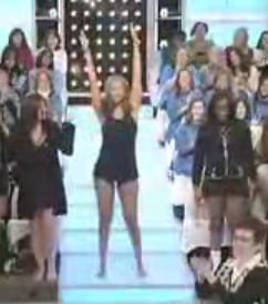 Tyra and Audience Members Strip Off Their Jeans