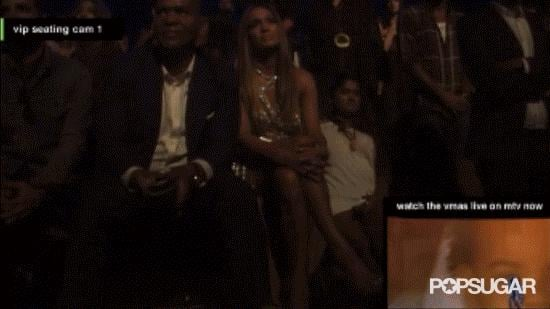 When J Lo was too focused on Beyoncé to show emotion.