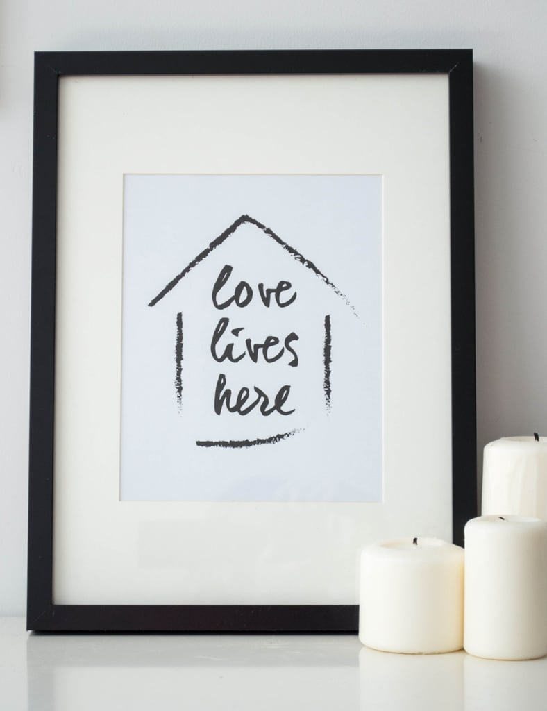 Love lives here ($4)