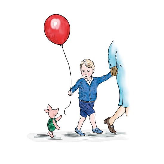 Winnie-the-Pooh Meets the Queen - and Prince George Too!