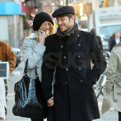 Cameron Diaz and Paul Sculfor Out in NYC