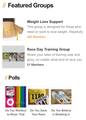 Check Out the FitSugar Community Page