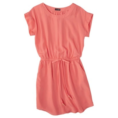 Add a pair of heeled sandals to take this look to the office.  The Webster at Target Easy Waist Short-Sleeve Dress ($37)