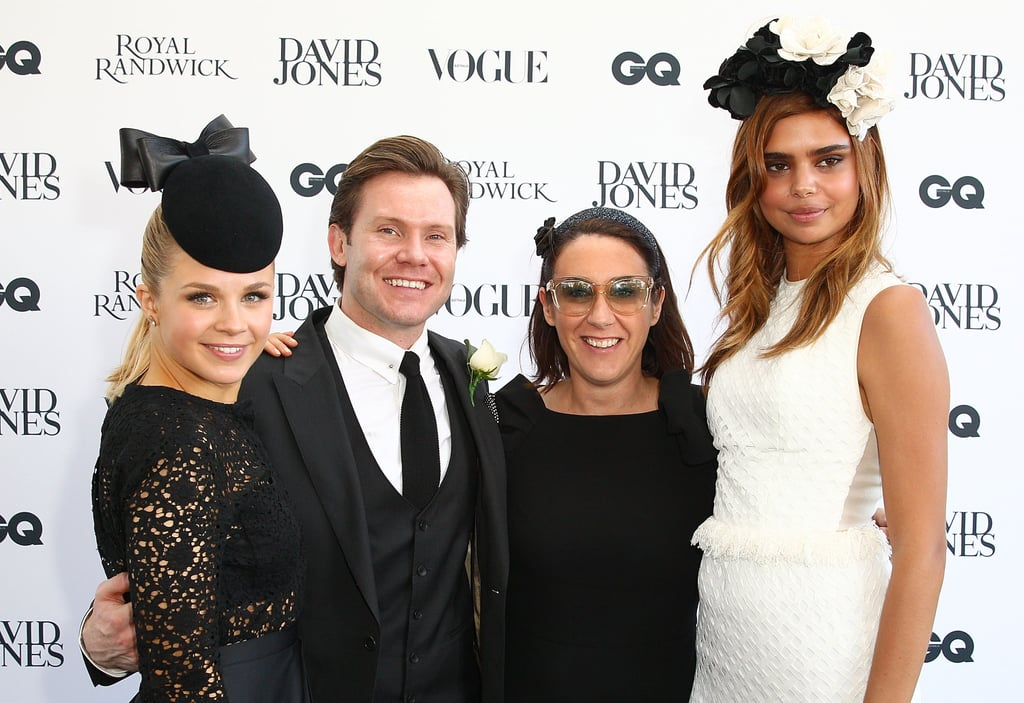 Emma Freedman, Nick Smith, Edwina McCann and Samantha Harris