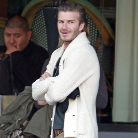 David Beckham and Prince Harry Get Together in CA Pictures