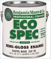 Eco Friendly Paint Options - Eco Spec by Benjamin Moore