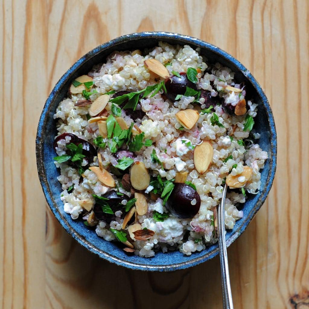 Cherry, Quinoa, and Feta Salad