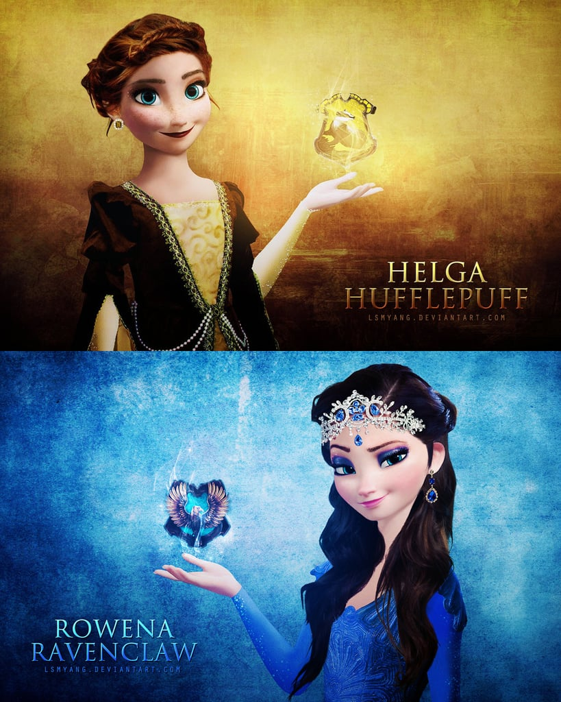 Harry Potter Anna and Elsa