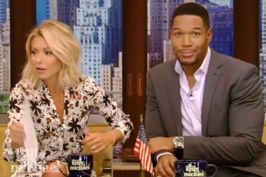 "Kelly Ripa Just Threw Some Savage Shade Toward Michael On ""Live"""