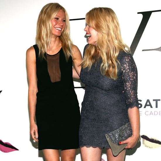 Gwyneth Paltrow and Amanda de Cadenet Pictures at DVF Party