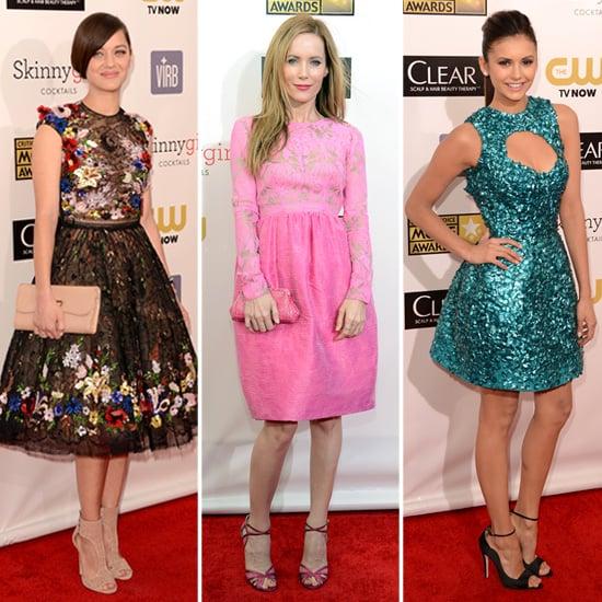 Short Dresses at Critics' Choice Awards 2013   Poll