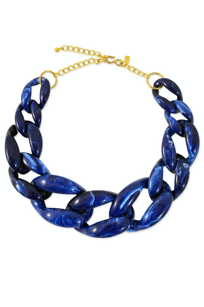 Kenneth Jay Lane Cobalt Necklace