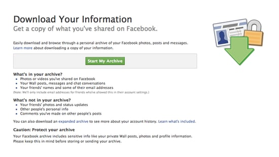 How to Download All Your Facebook Data