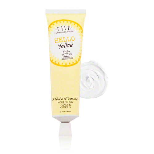 FarmHouse Fresh Hello Yellow Shea Butter Hand Cream ($14)
