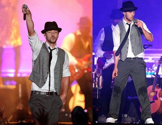 Justin Timberlake in Concert in Abu Dhabi