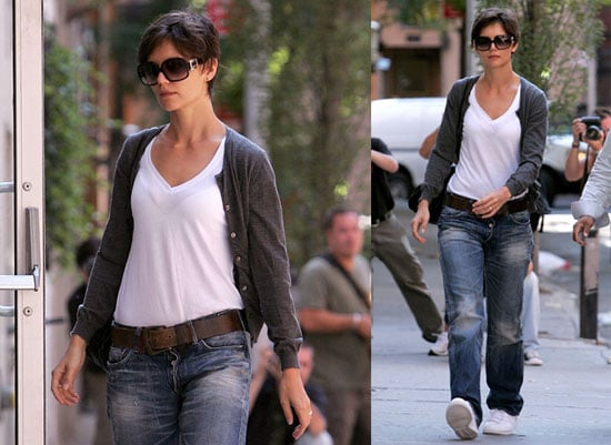 Photos of Katie Holmes Walking in NYC