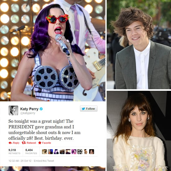 Tweets Of The Week: Katy Perry, Alexa Chung, Harry Styles & More!