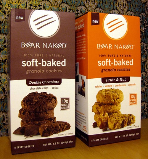 New Bear Naked Soft Baked Granola Cookies