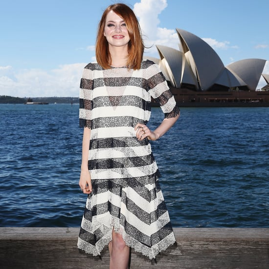 Striped Lace Dresses