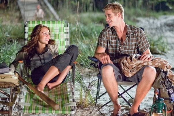 Miley Cyrus and Liam Hemsworth, The Last Song