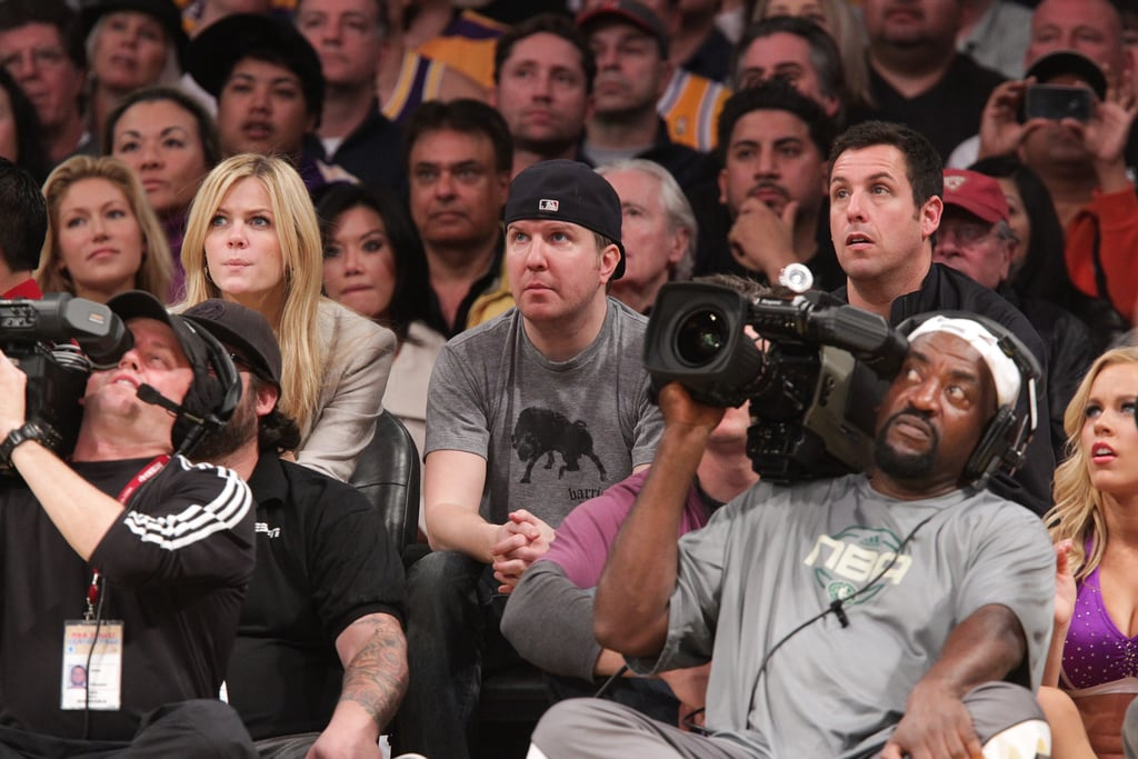 Matt Damon and Zac Efron Lead Opposing Cheering Sections at Celtics vs. Lakers Game!