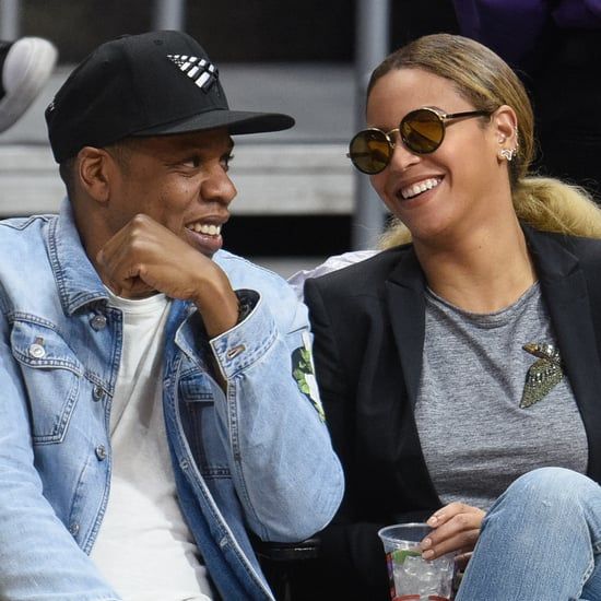 Beyonce and Jay Z at LA Clippers Game February 2016