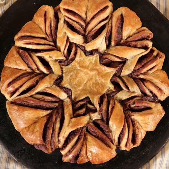 Braided Nutella Croissant Bread