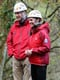 The couple shared a laugh in November 2015 before they enjoyed rock climbing at the Towers Residential Outdoor Education Centre in England.