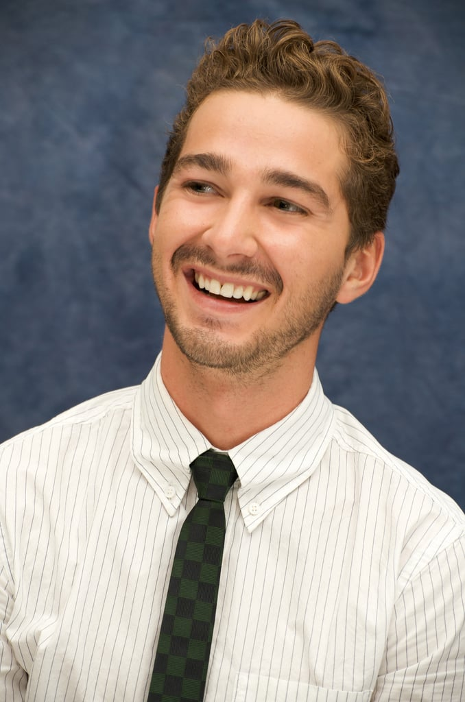 Shia showed off his sweet grin while promoting Transformers: Revenge of the Fallen in LA back in May 2009.