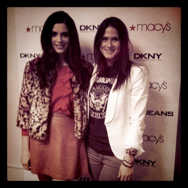 Associate Editor Hannah chatted with the face of DKNY, Ashley Greene.